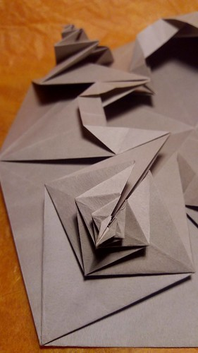 Tesselation - création #1   détail.   by louis-nicolas