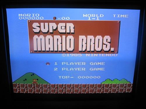 Photo 66 - RGB écran titre Super Mario Bros | by spoz78