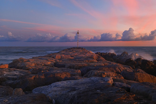 ocean park new york pink blue sunset red sky ny color beach night clouds island evening spring twilight hamptons rocks long cloudy jetty south shoreline atlantic shore inlet southampton legacy shinnecock