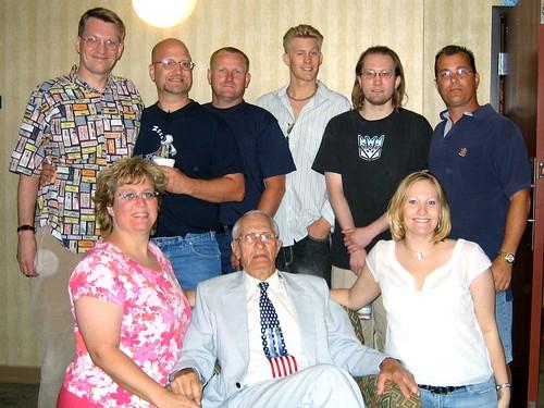 Grandpa Omundson & His Grandchildren