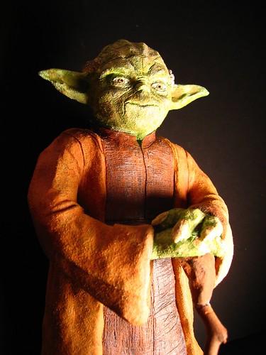 Jedi Master Yoda Sculpture