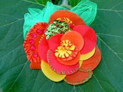 Pregadeira flor