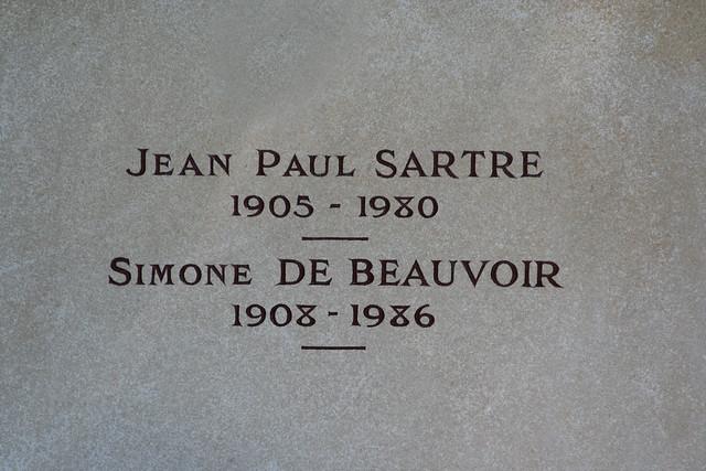 JEAN PAUL SARTRE / SIMONE DE BEAUVOIR