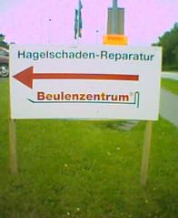 Hagel-Reparatur