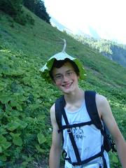 Improvised hat