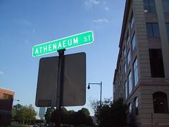 Athenaeum Street, formerly Athenaeum Street