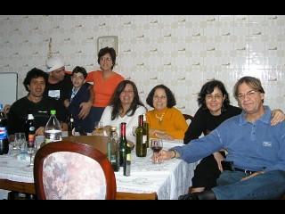 foto na casa da Carmen