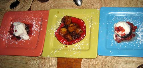Dessert at Mercadito
