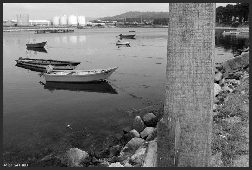 Viana do Castelo - Barcos no Cabedelo