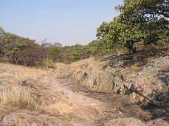 Arroyo seco en Sierra del Laurel