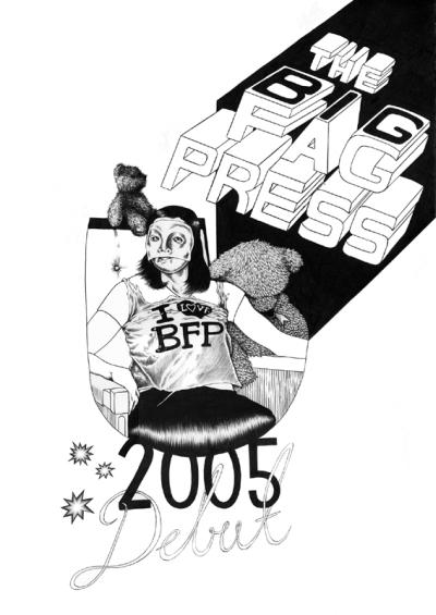 fag press debut poster