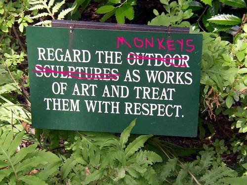 monkeyrespect!