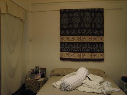 bedroom: mess...