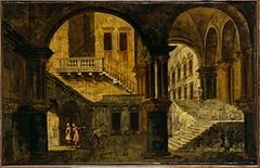 Marieschi'S Courtyard