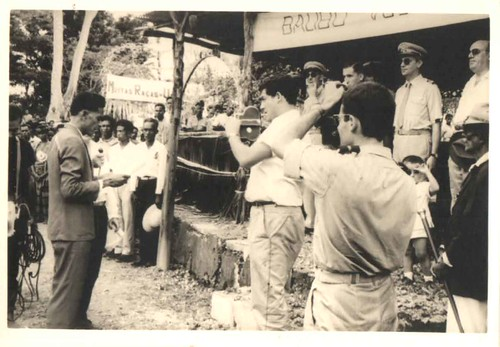 Balibó - 1/12/1964 Palestra por régulo de balibó na visita do sub-secretário