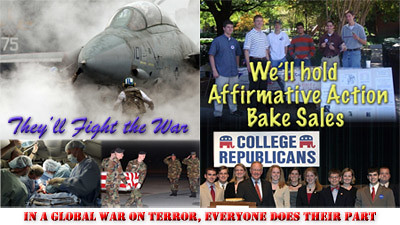 college republican recruiting poster