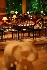 Shangrila lobby choco buffet