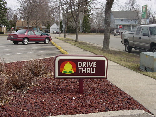 Taco Bell Drive Thru Sign | by compujeramey