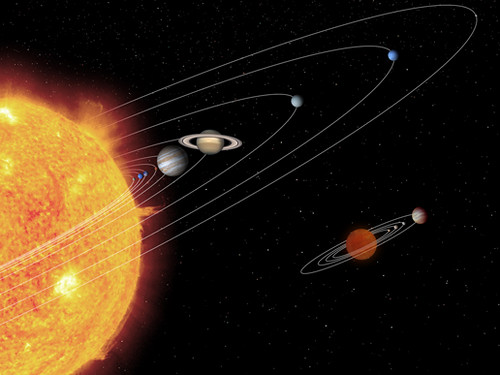 Mini me solar system