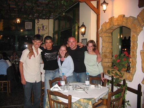 first night in Crete