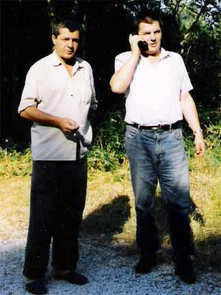 Ibrahim Suljkanović i Milan Levar na Ugljanu
