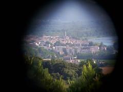 Bourg Saint Andéol au téléobjectif ;)