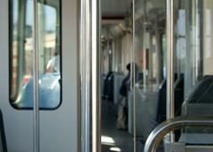 inside of tram