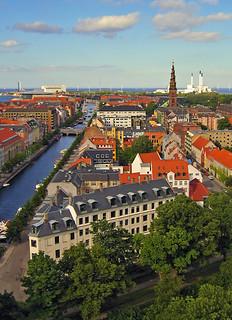 Christianshavn in Copenhagen, Denmark