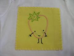 strawbeerry baby shirt