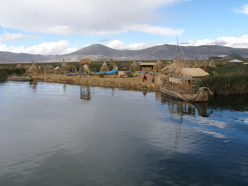 Reed Islands of Lake Titicaca | by quinet