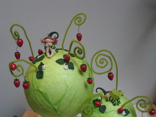 strawberry planet | by coccinelfe