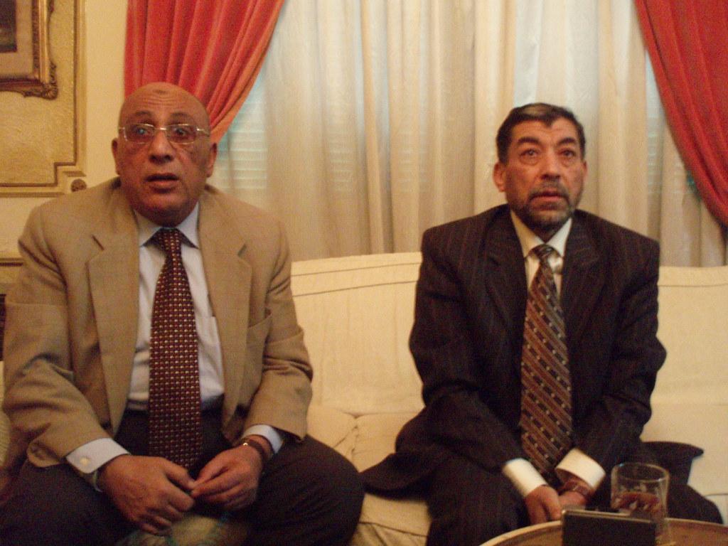 Kafr el-Dawwar managers: Raafat Geneidi and Ali Ghallab