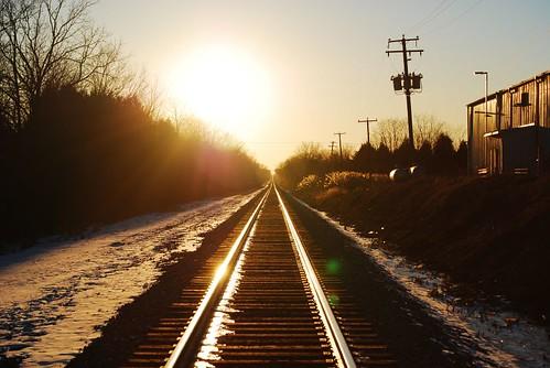 railroad sunset dcist