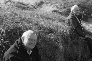 Smiling Men on Dune | by Nicky Wilkes