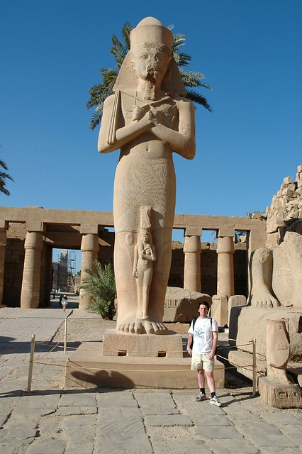Entrance to the Temple of Luxor