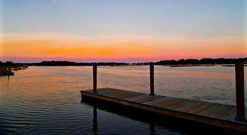 wood pink blue autumn sunset sky orange color reflection fall sc water colors reflections evening pier dock nikon pastel south southcarolina bluesky marsh beaufort lastlight lowcountry carolinas 2015 sittingonthedockofthebay beaufortcounty nikon2485 batterycreek harborriver nikond610