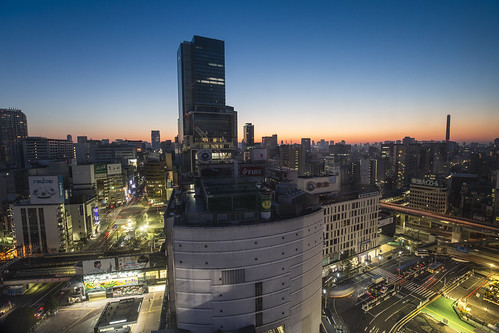 city morning sky weather sunrise dawn tokyo cityscape shibuya bluehour urbanlandscape