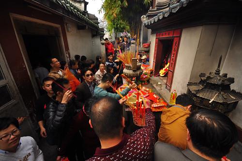 china tempel lufeng xuanwu jeishi yuantemple
