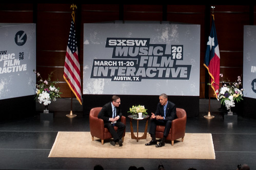 SXSW 2016: The President | by p_a_h