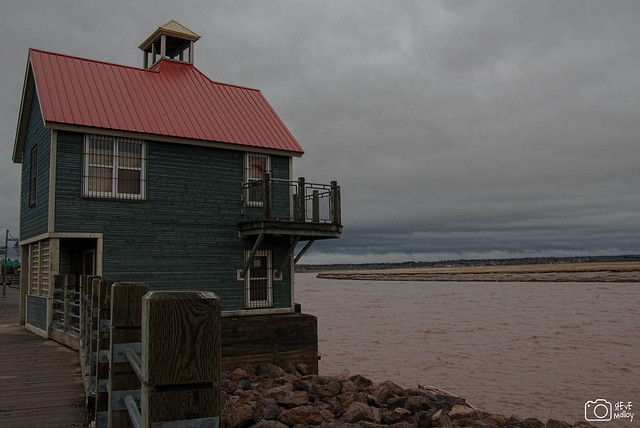 Red Roof on the Chocolate River