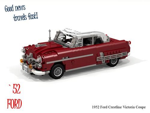 Ford 1952 Crestline Victoria Coupe