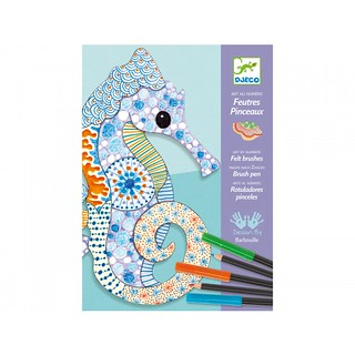Djeco állatos rajzoló-színező készletünkkel az alkotás szinte gyerekjáték. Alkoss, színezz és készíts igazi mesterműveket!