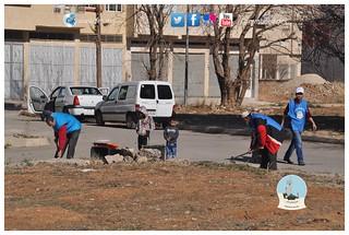 اختتام فعاليات اليوم الثاني من حملة النظافة المنظمة من طرف مقاطعة سايس  31 يناير 2016