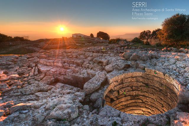 Serri _ Area Archeologica di Santa Vittoria _ pozzo Sacro _ Foto Nicola Castangia