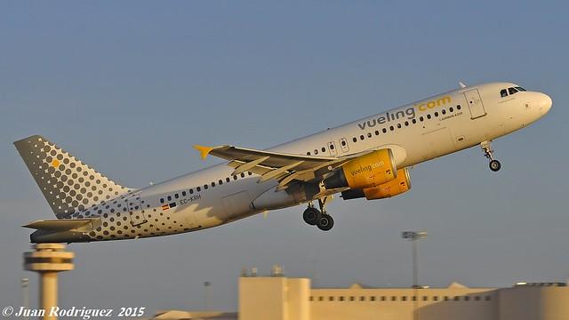 EC-KRH - Vueling Airlines Airbus A320-214