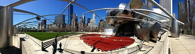 The Pritzker Pavillion (Frank Gehry architect)