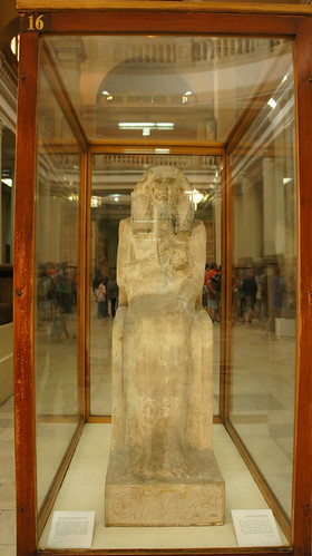 Statue of King Djoser | by Kodak Agfa