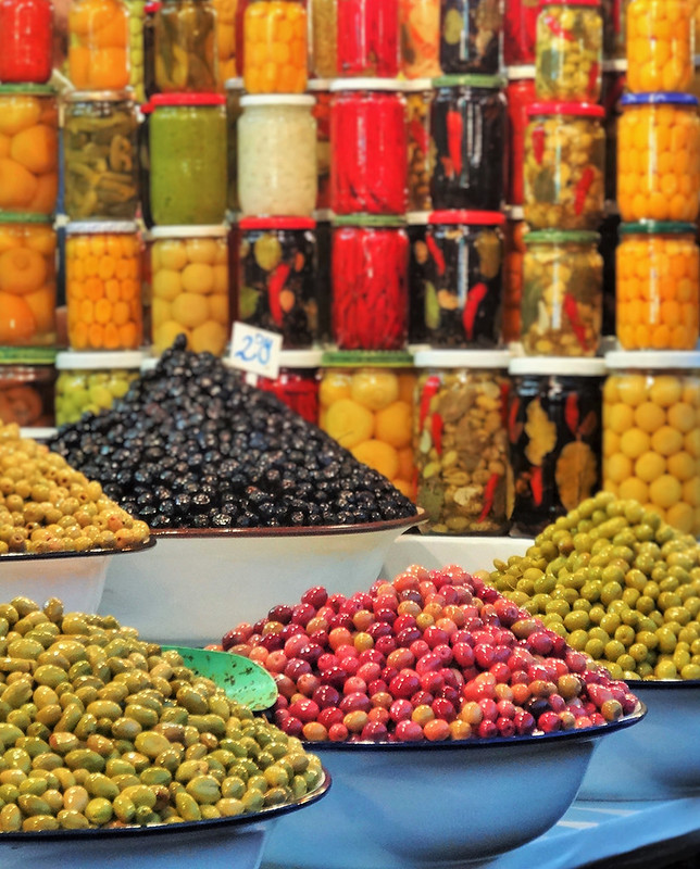 Marché aux olives - Olives market