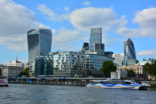 London, Boat Trip Up The River Thames, The City Of London | by Martin Pettitt