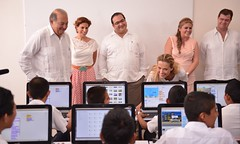 El gobernador Javier Duarte inauguró la Escuela Primaria Juan Maldonado Pereda 1